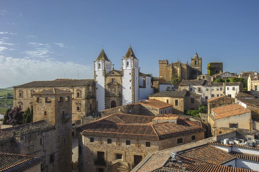 Old town of Caceres, Extremadura
