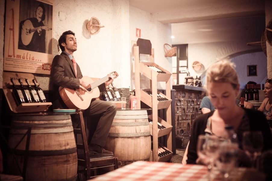 Fado in a traditional Lisbon restaurant