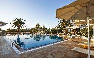 Swimming pool, Galaxy Hotel, Naxos, Cyclades, Greece