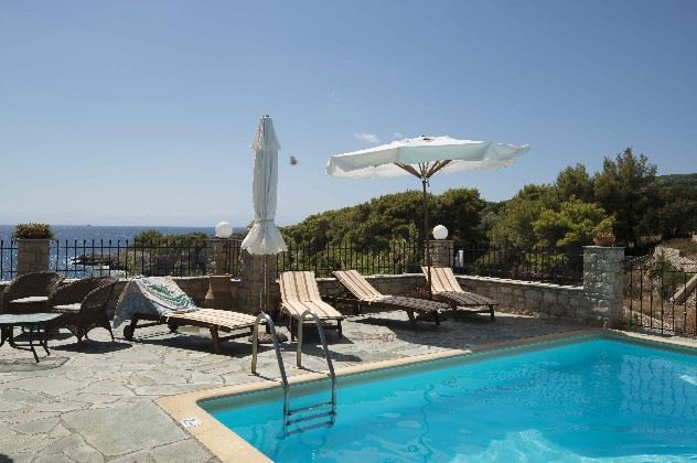 Swimming pool, Yalis Hotel, Votsi, Alonissos, Greece
