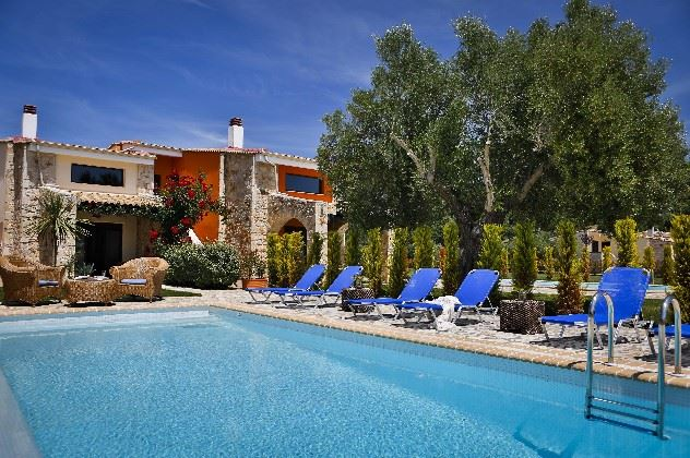 Nefeli Villas and Suites, Nea Skioni, 3 bedroom with private pool