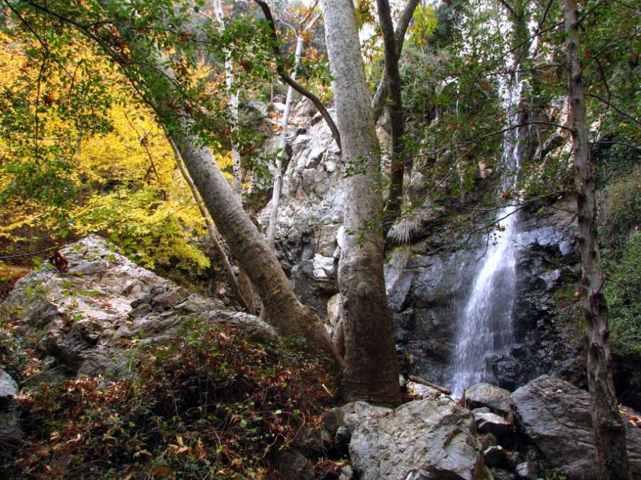 Caledonia waterfall, Troodos Mountains, Cyprus
