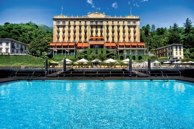 Grand Hotel Tremezzo, Lake Como, The Italian Lakes, Italy