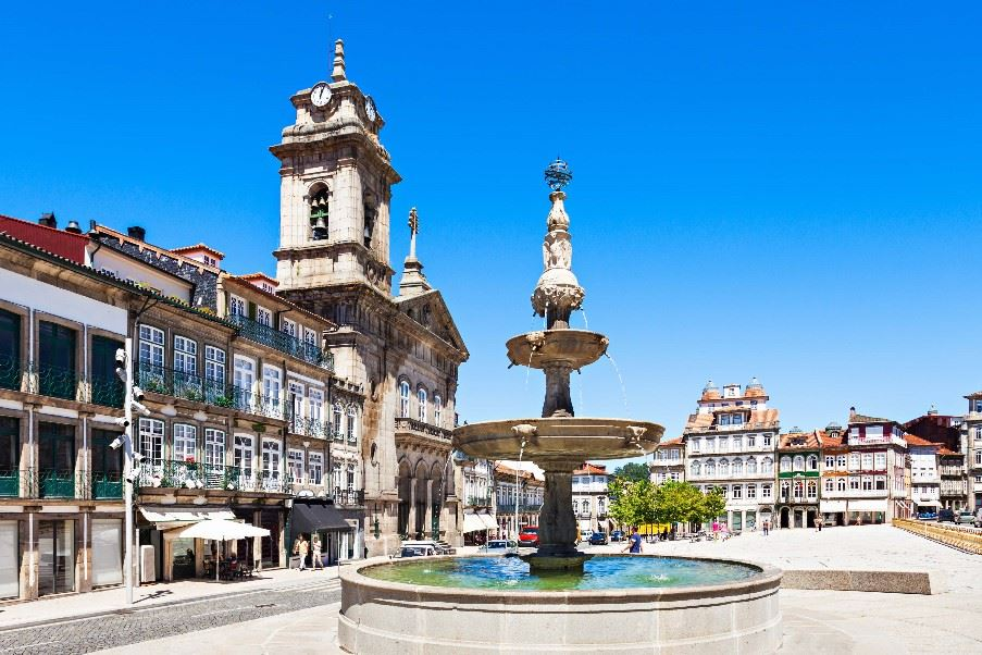 Toural Square, Guimaraes, Portugal