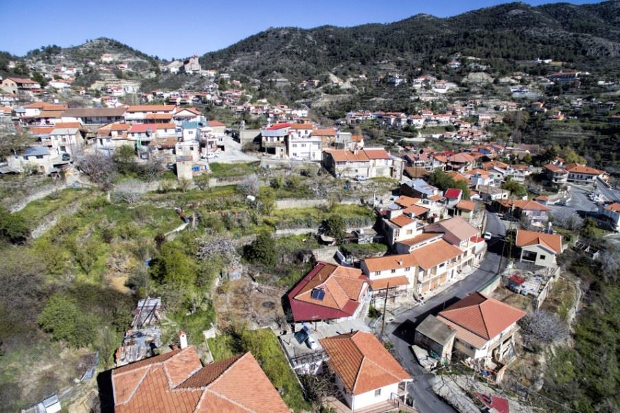 Village of Kyperounta, Troodos mountains