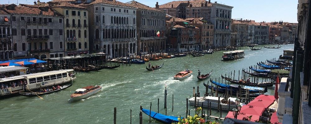 View from Riva Del Vin Hotel, Venice