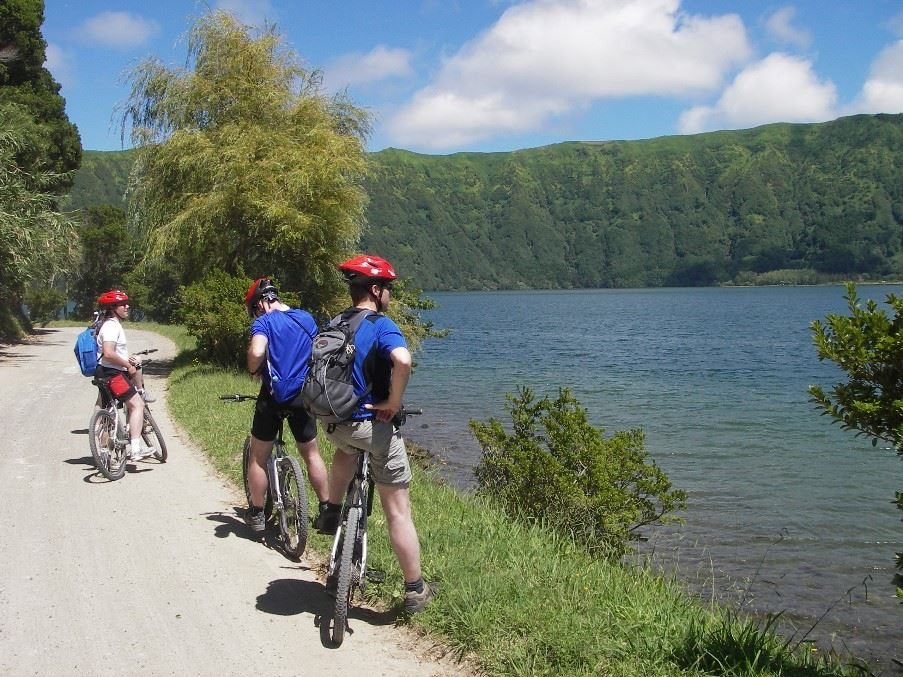 Cycling holiday, Sao Miguel