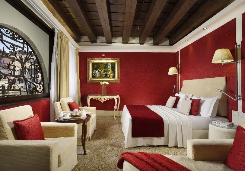 Junior Suite with Grand Canal view, Palazzo Giovanelli e Gran Canal, Venice