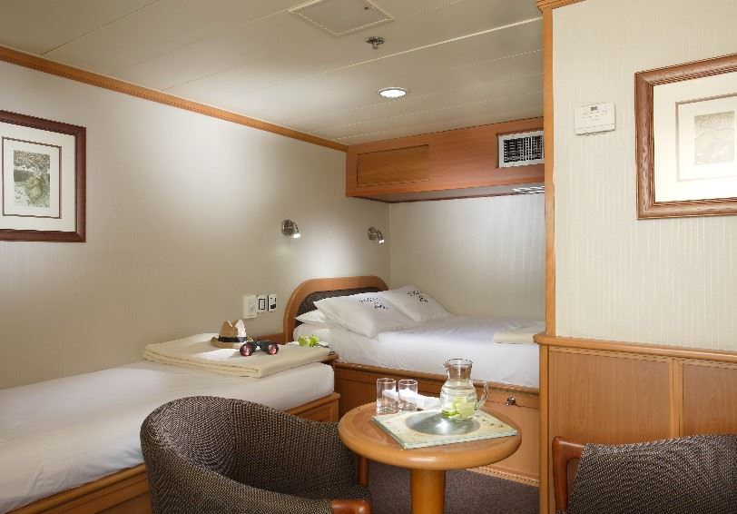 Triple cabin, Yatch Isabela II, Galapagos Islands