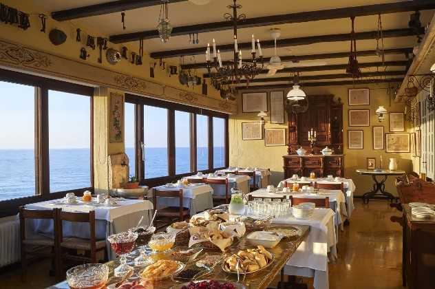 Panoramic breakfast room, Doma Hotel, Chania, Crete