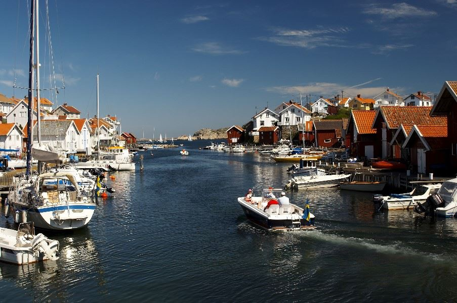 Boat trip, Gothenburg and The West Coast