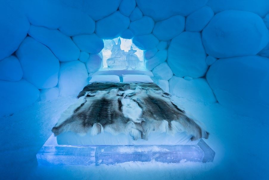 Tromso Ice Domes, Overbygd, Northern Norway