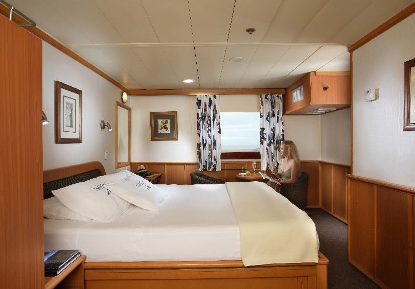 Double cabin, Yatch Isabela II, Galapagos Islands