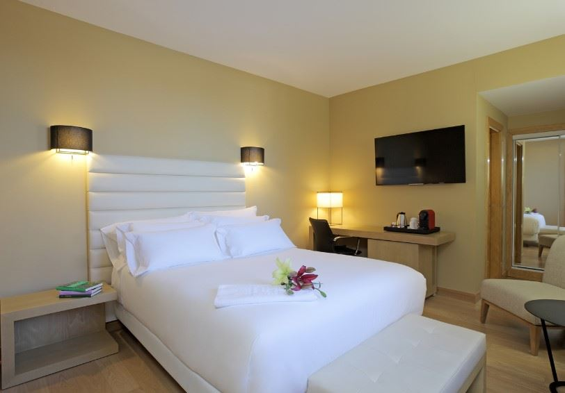 Single superior room, Palacio de Oquendo Hotel, Extremadura, Spain