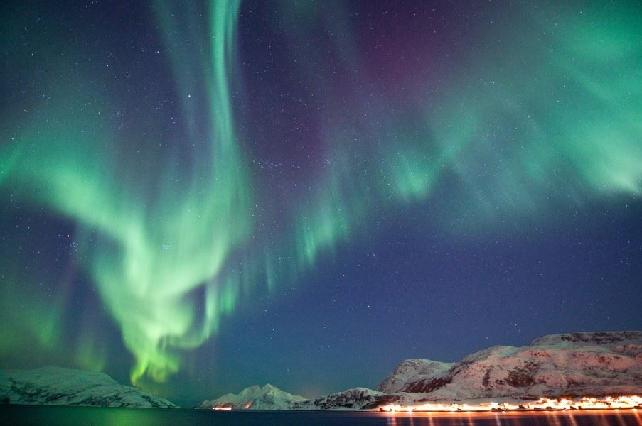 Aurora hunt in Tromso, Northern Norway