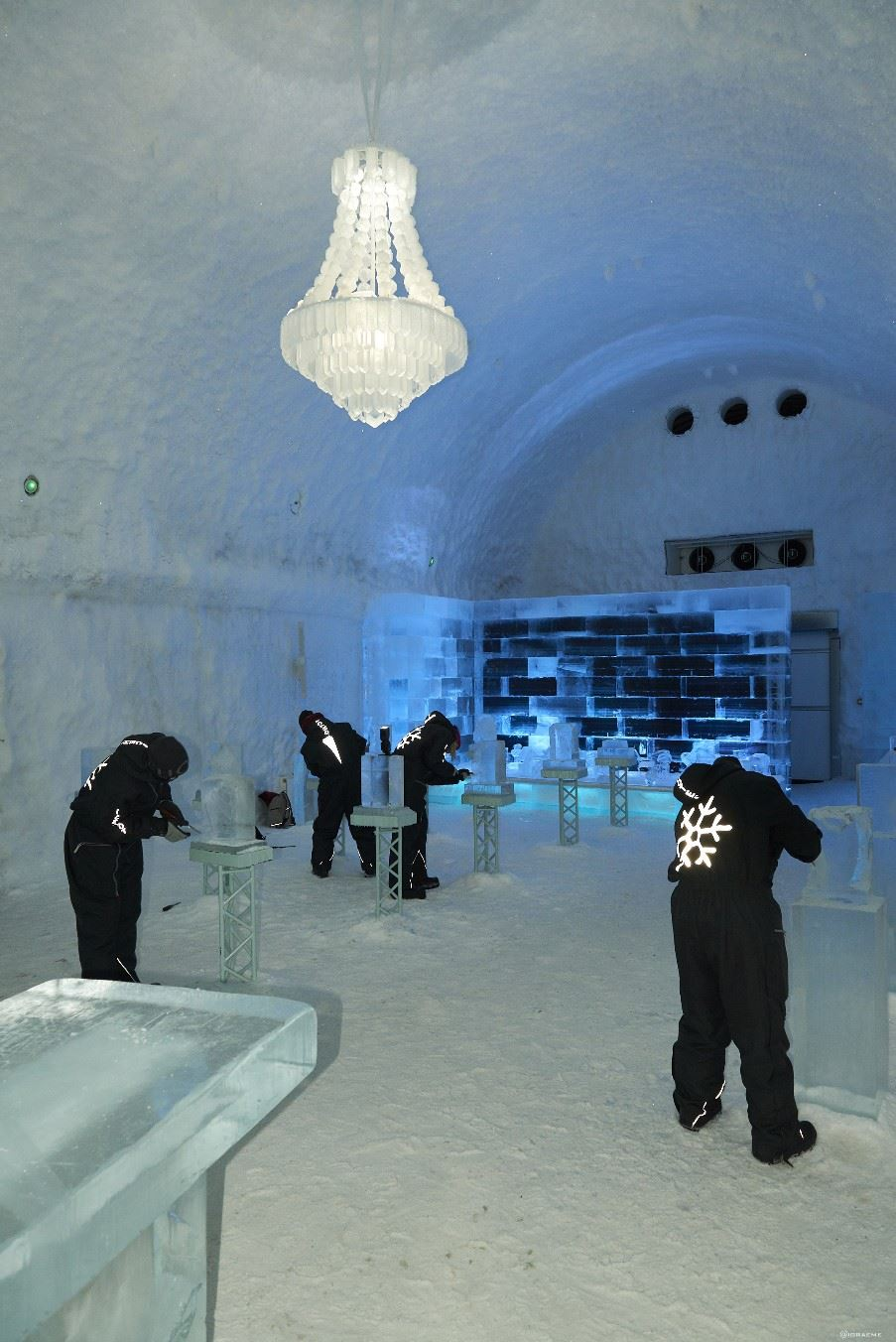 Ice sculpting, ICEHOTEL