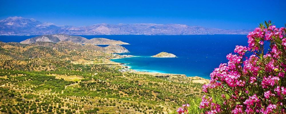 Landscape, Crete, Greece