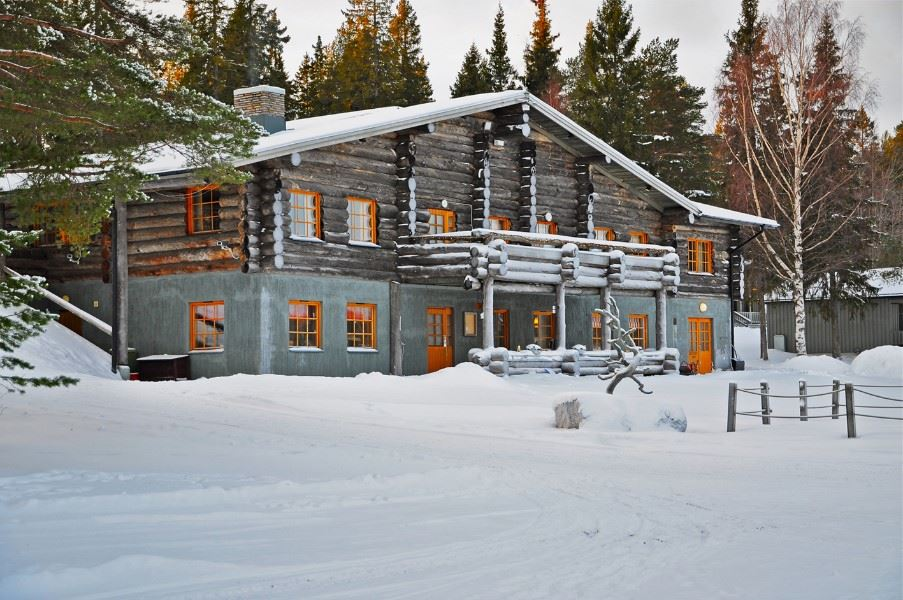 Brandon Lodge, Swedish Lapland