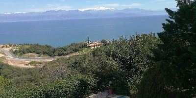 View of the Taygetos Mountains from the Kalamaki Villas