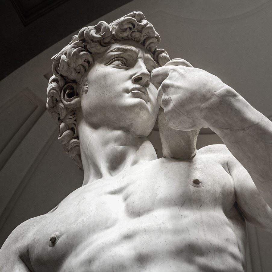 Michelangelo's statue of David