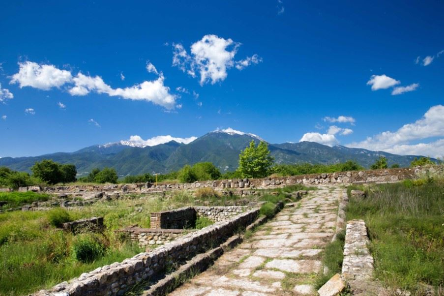 Dion archaeological site, Pieria, Greece