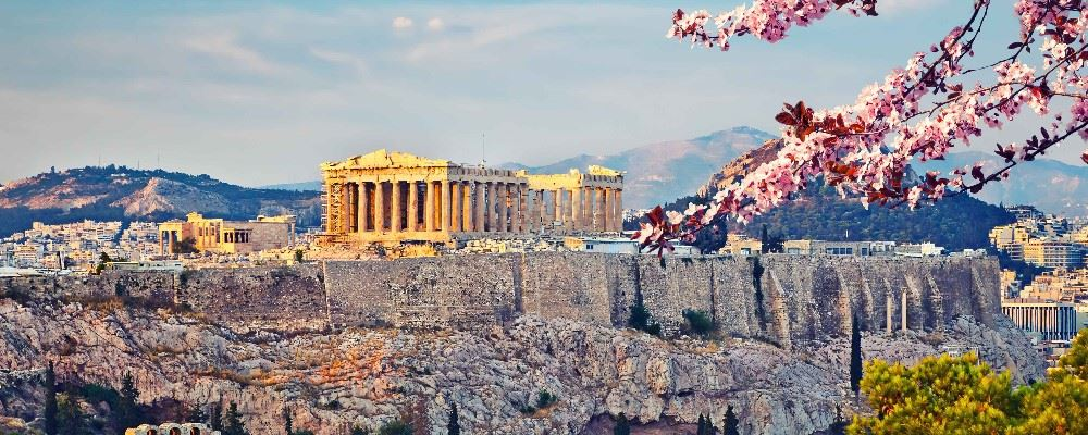 Athens in spring