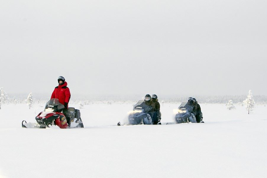 Snowmobile Tour, Tromso