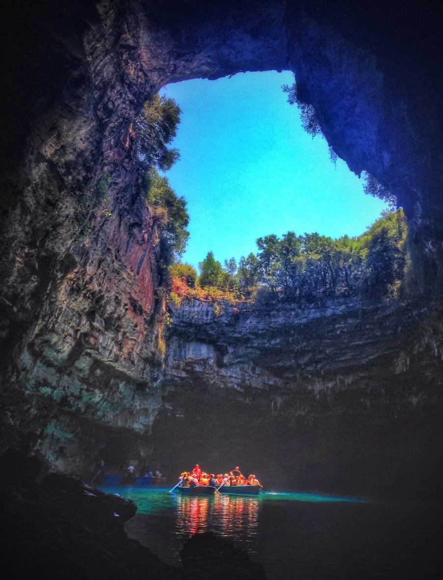 Melissani Lake, the hidden beauty of Kefalonia