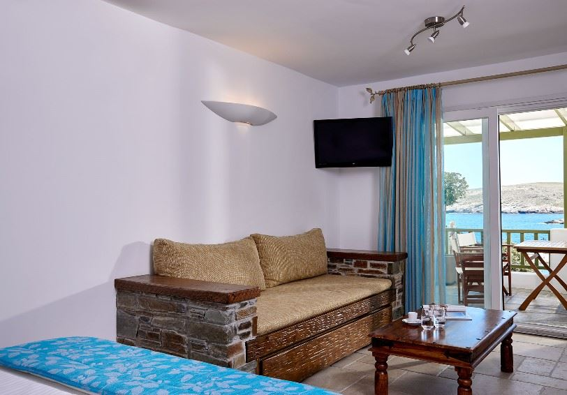 Junior suite, Porto Klaras, Kythnos