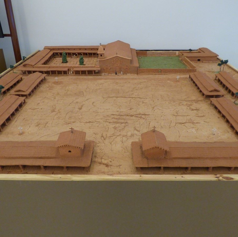 Model of San Ignacio Mini