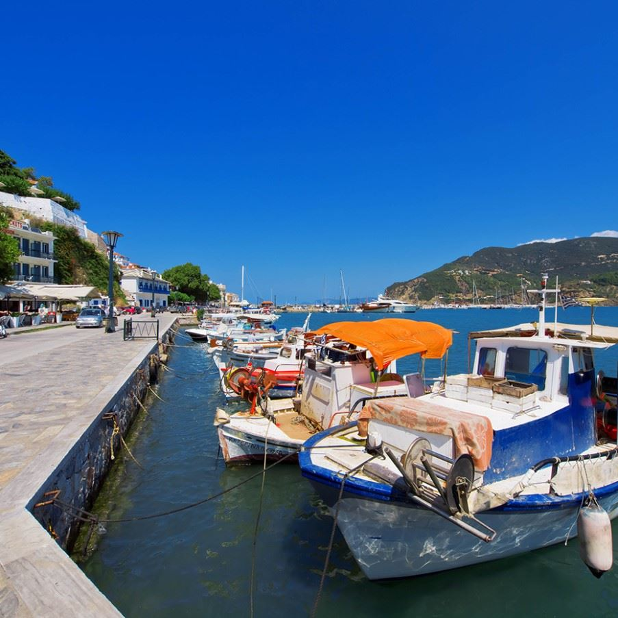 Port of Skopelos