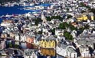 Alesund - an art nouveau jewel