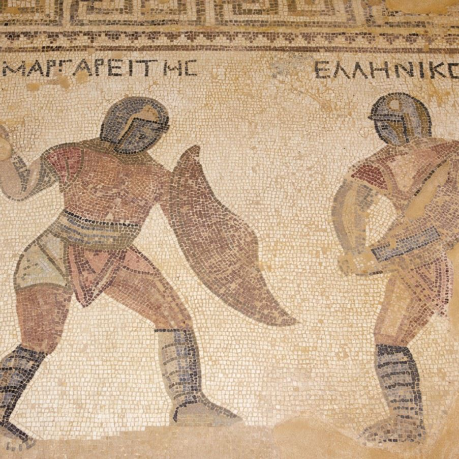 Mosaics at the Tombs of the Kings, Paphos