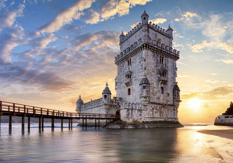 Tower of Belém in Lisbon