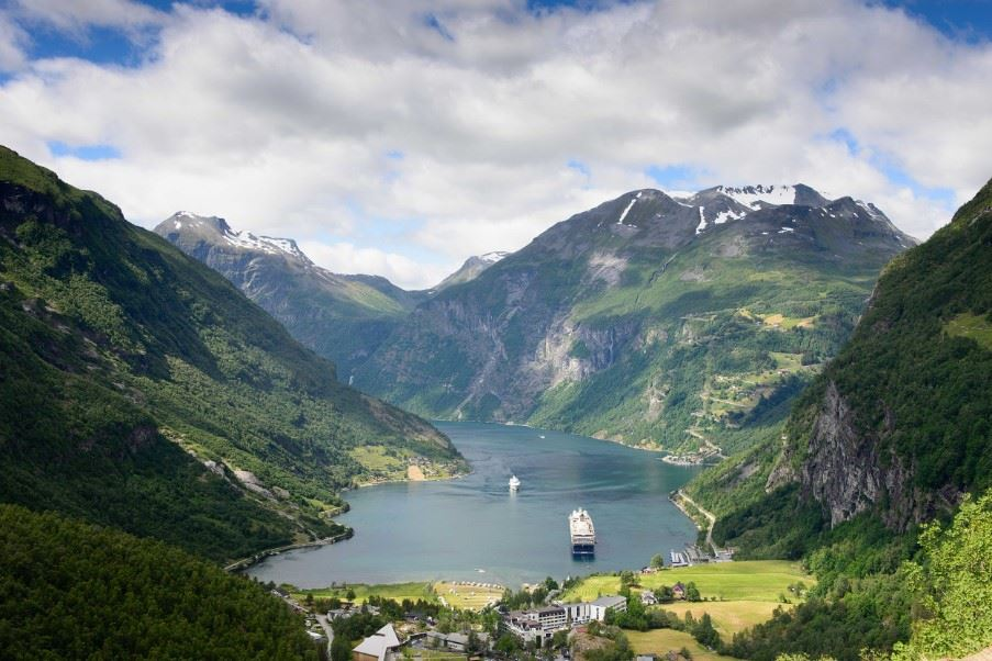 Geirangerfjord, The Fjords