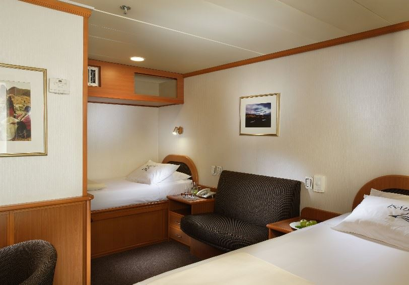 Twin cabin, Yatch Isabela II, Galapagos Islands