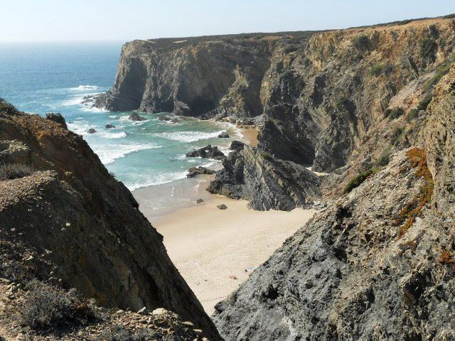 The Alentejo coastline, Portugal