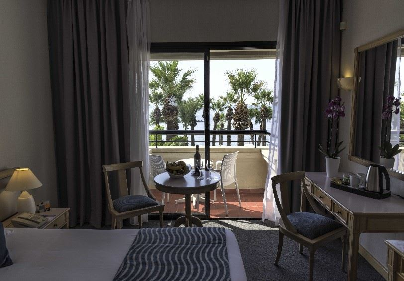 Sea view room, Palm Beach Hotel & Bungalows, Larnaca, Cyprus