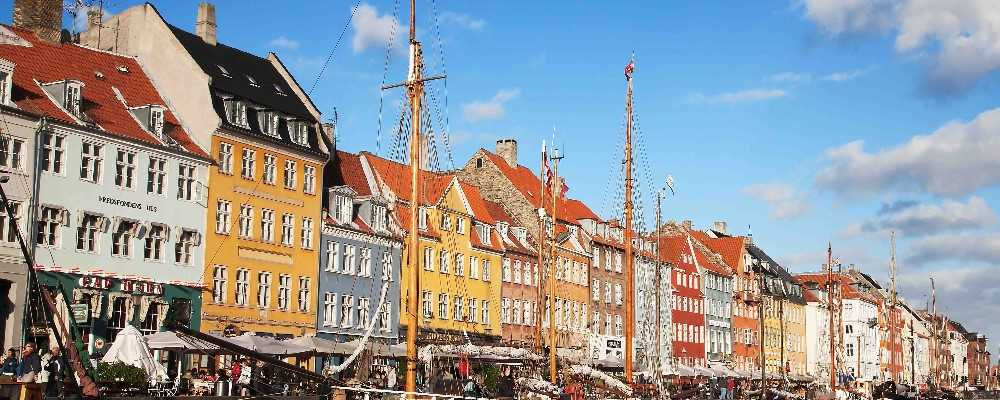 Nyhavn district, Copenhagen, Denmark