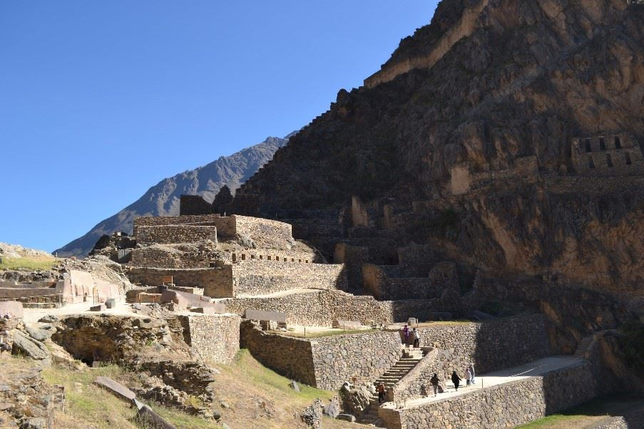 Ollantaytambo Ruins, The Sacred Valley