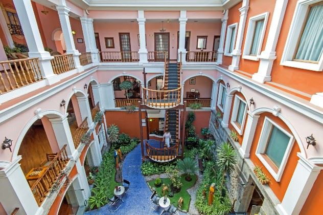 Patio Andaluz Hotel, Quito, Ecuador