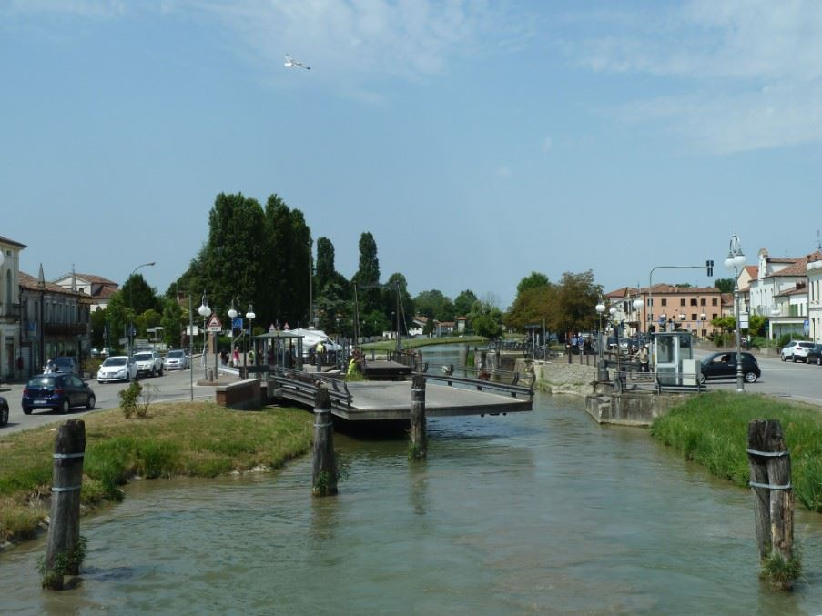 Padua to Venice on the Brenta River Canal