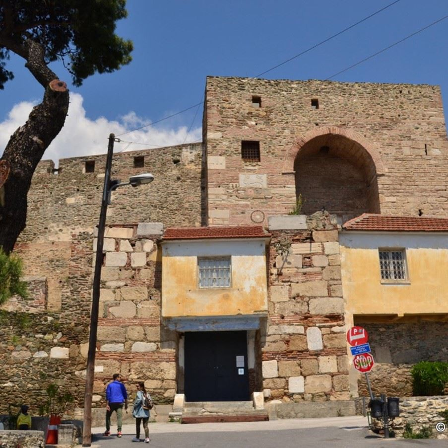 The Ottoman Efendis Hedquarters, once a prison inside the Acropolis