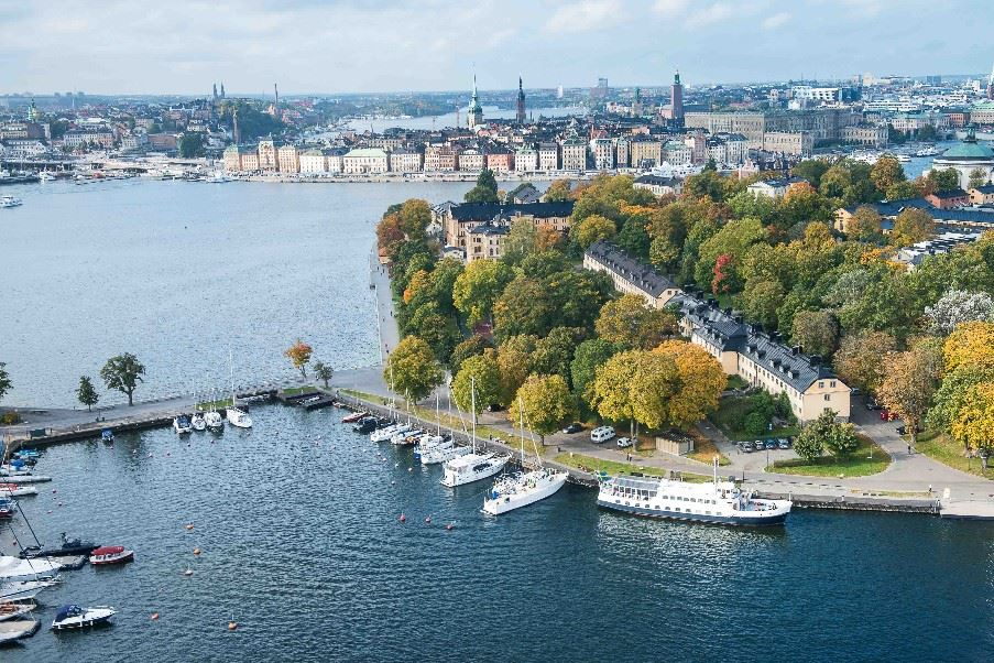 Skeppsholmen Hotel, Stockholm and surrounding countryside