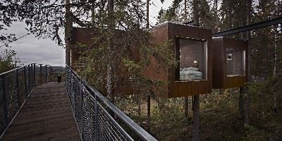 The TreeHotel, Harads, Swedish Lapland, Sweden