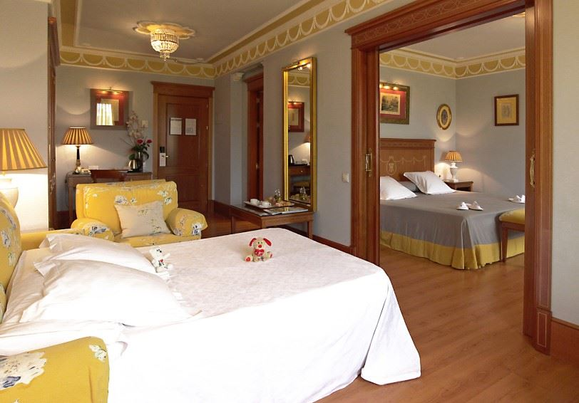 Junior Suite, Inglaterra Hotel Seville, Seville, Spain