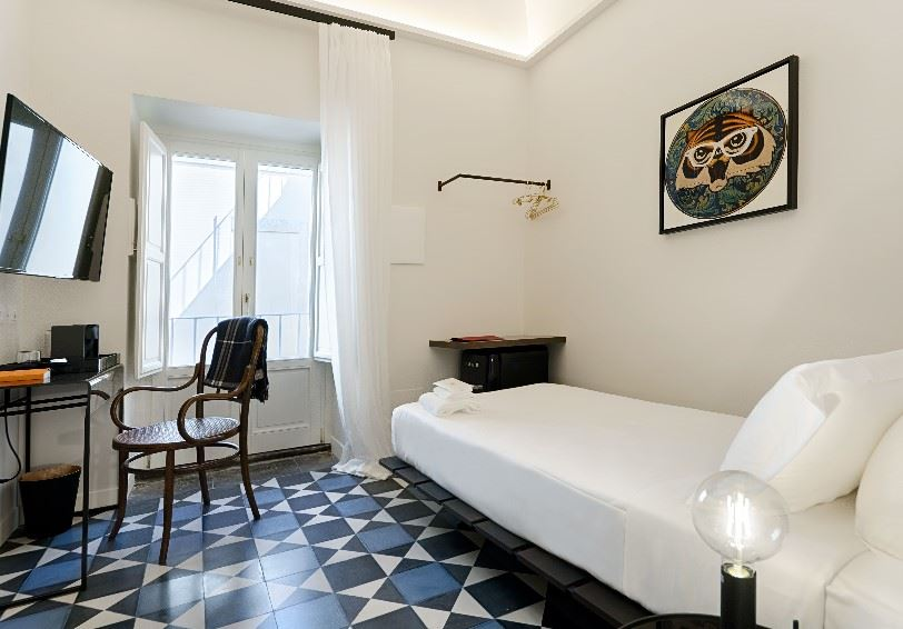 Single Room Don Marco, a.d. 1768 Boutique Hotel, Ragusa Ibla, Eastern Sicily