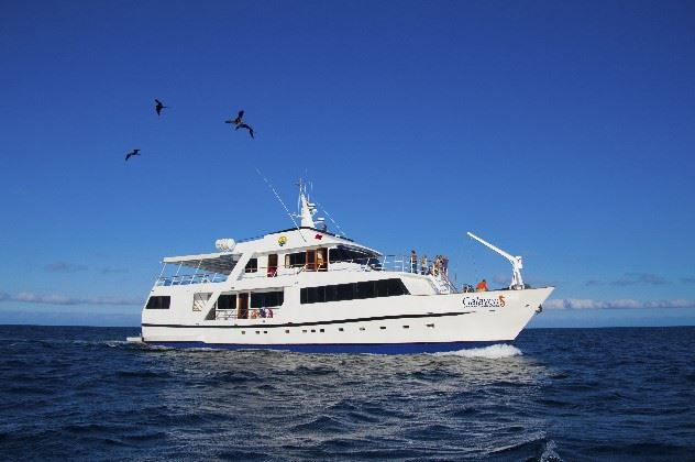 MV Galaven, The Galapagos Islands