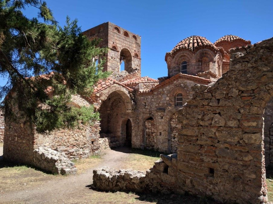 Church of St Sophia, Mystras