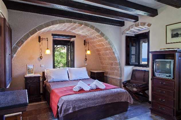 Double budget partial view, Byzantino Hotel, Monemvasia, Peloponnese